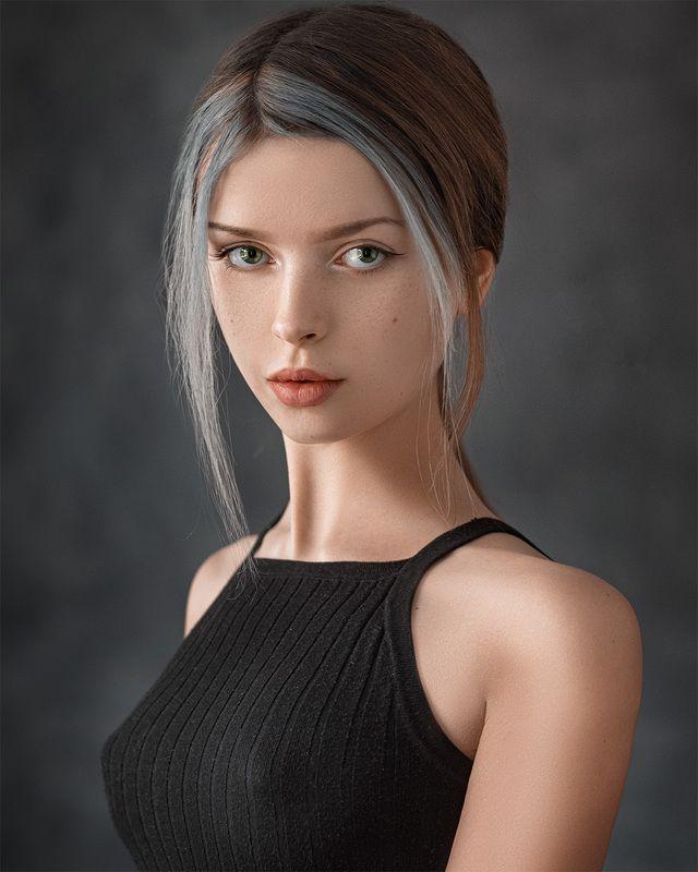 art, portrait, girl, model, арт, портрет, девушка, модель Kseniaphoto preview