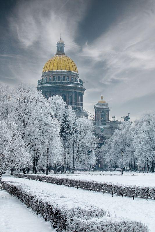 зима, город, собор, день ---photo preview