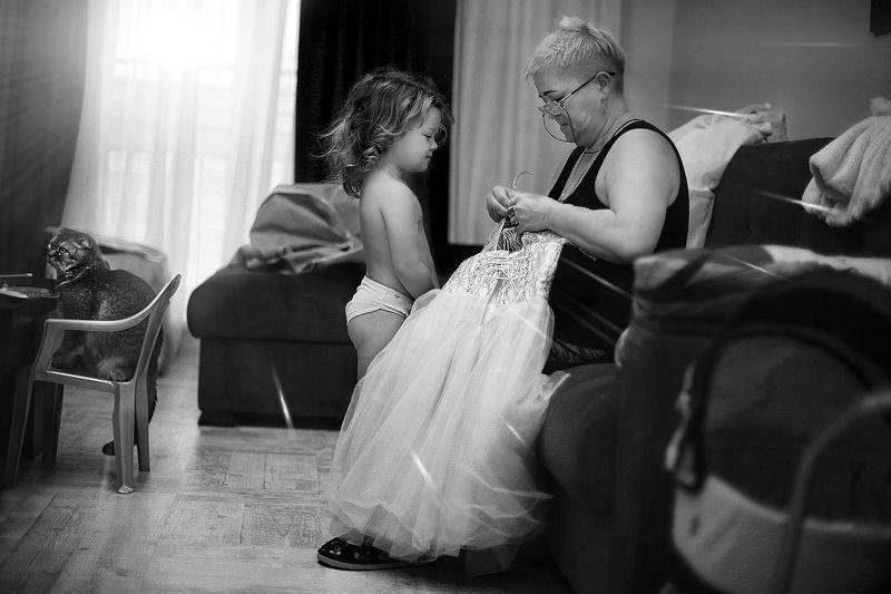 дети, ребенок, свадьба, сборы, помолейко, репортаж, wedding Маленькая принцессаphoto preview