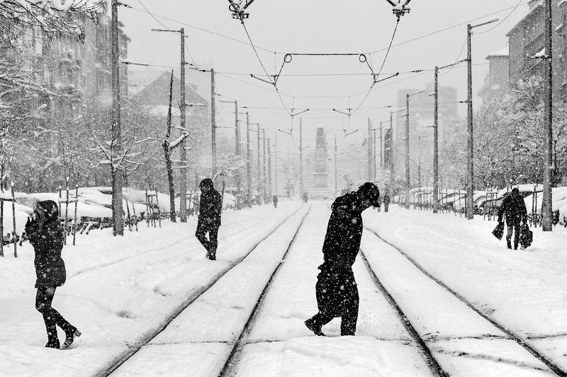 Снежное настроение...photo preview