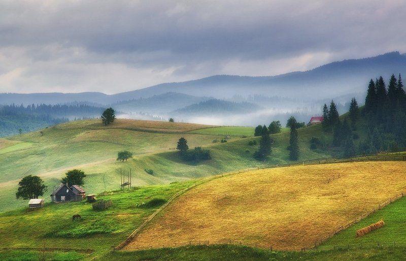 Горы, Карпаты, Украина ***photo preview