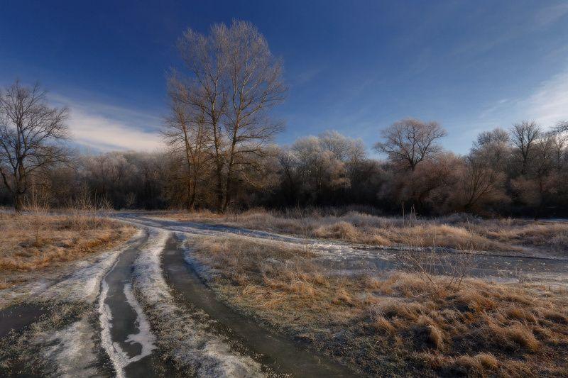 зима мороз декабрь иней ***photo preview