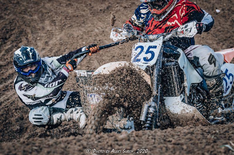 #мотокросс 24.10.2020 г. Чехов - Муковнино. Соревнование по мотокроссуphoto preview