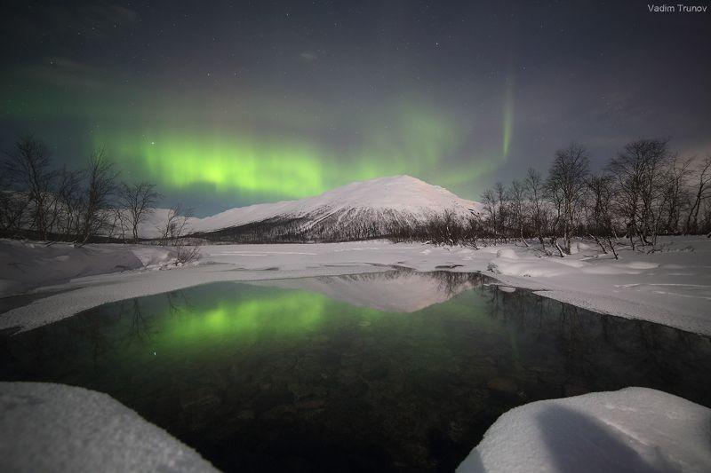 кольский, север, заполярье, хибины, северное сияние, aurora borealis Сияние севераphoto preview