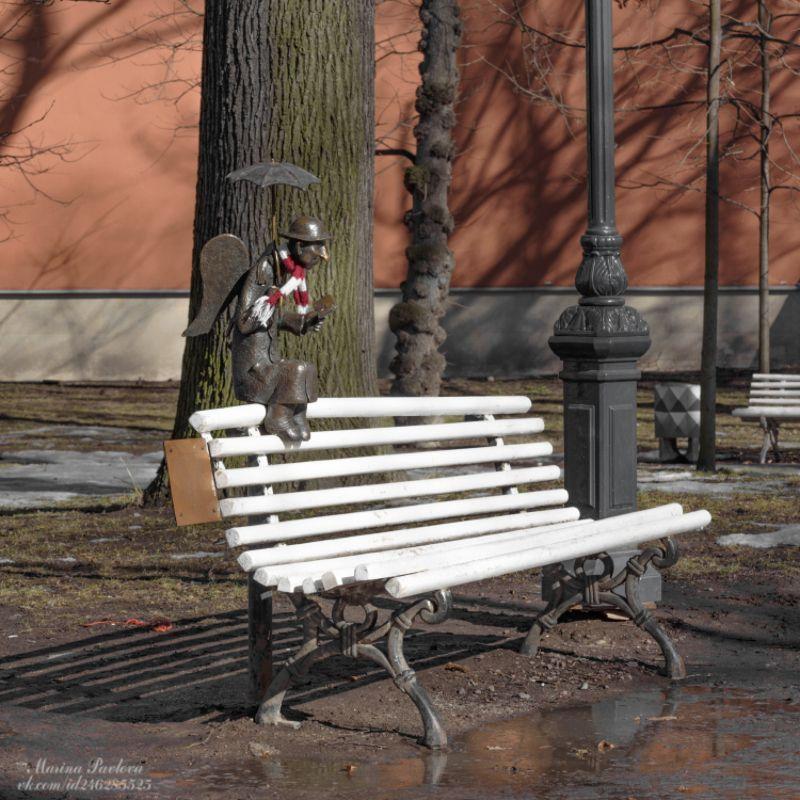 город, санкт-петербург, скульптура, измайловский сад, памятник петербургский ангел Петербургский ангелphoto preview
