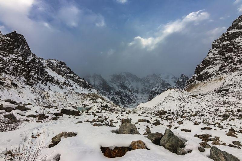 горы, альпинизм, кавказ, ледники a hard land...photo preview