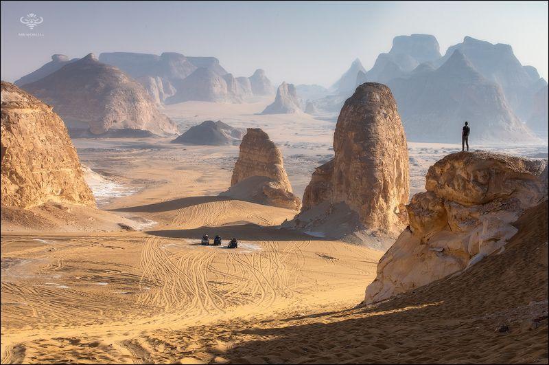 Египет, западная сахара, фототур в пустыню, экспедиция в белую пустыню  Инопланетный пейзаж Белой пустыниphoto preview