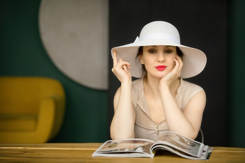 портрет, девушка, актриса Портретноеphoto preview
