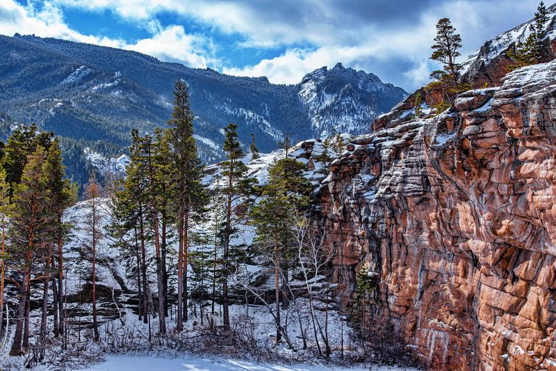 горы Каркаралинские  горы.photo preview