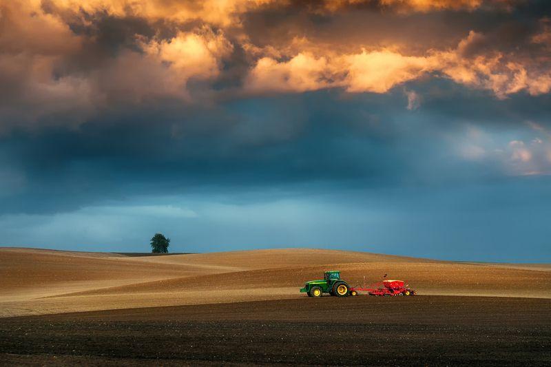 landscaspe Oсенние полевые работыphoto preview