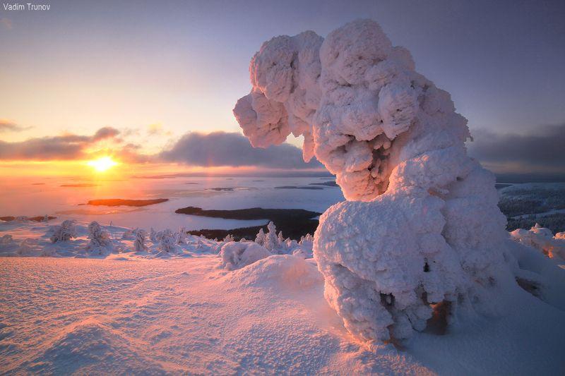 кольский, север, заполярье Скульптуры северных ветровphoto preview
