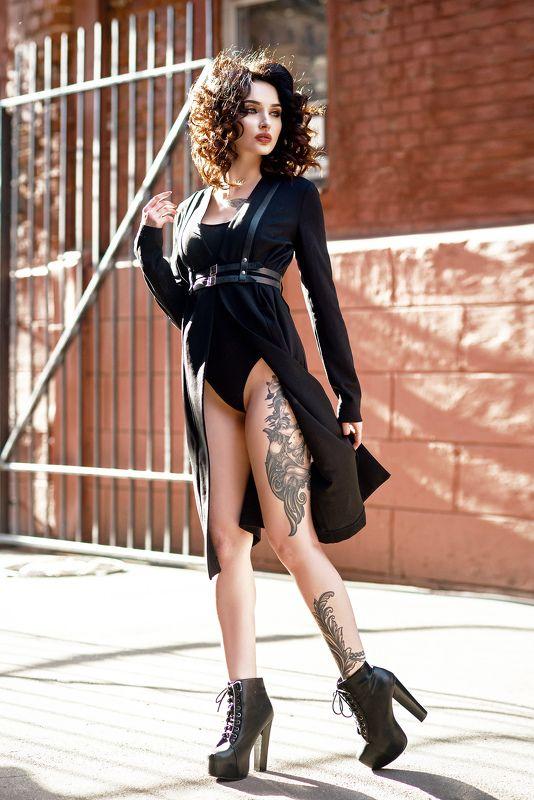 силуэт, грация, свет, тень, красный, чувственность, соблазн, платье ***photo preview