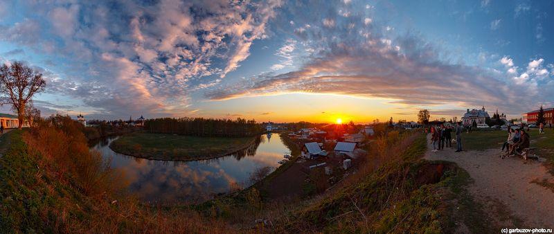 Суздаль. Излучина реки Каменка.photo preview