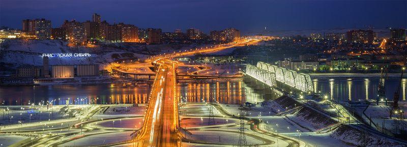 ...Красноярские мосты...photo preview