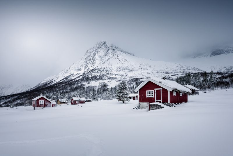norway,landscape,cabin,mountains Norwayphoto preview