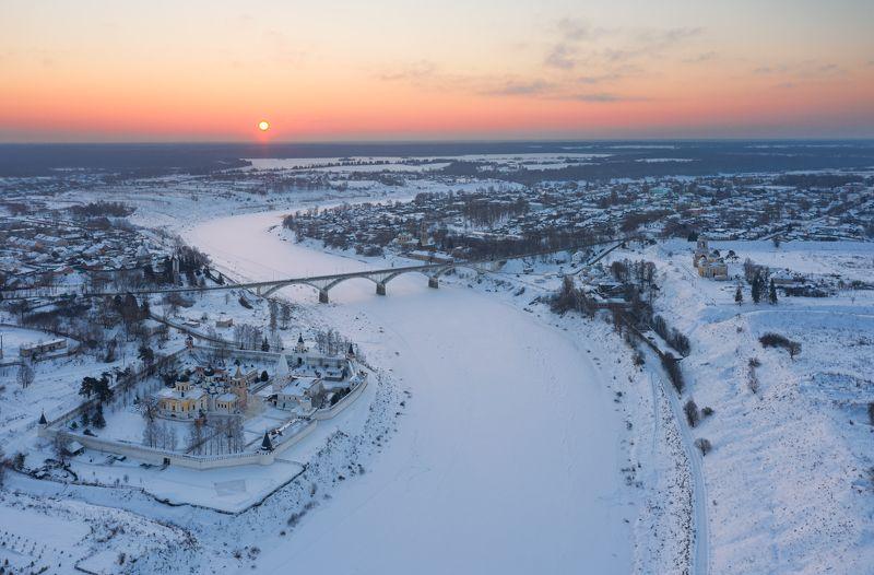 морозное утро в Старицеphoto preview
