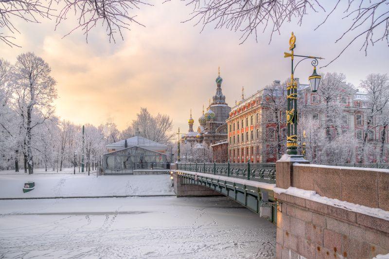 февральское утро....photo preview