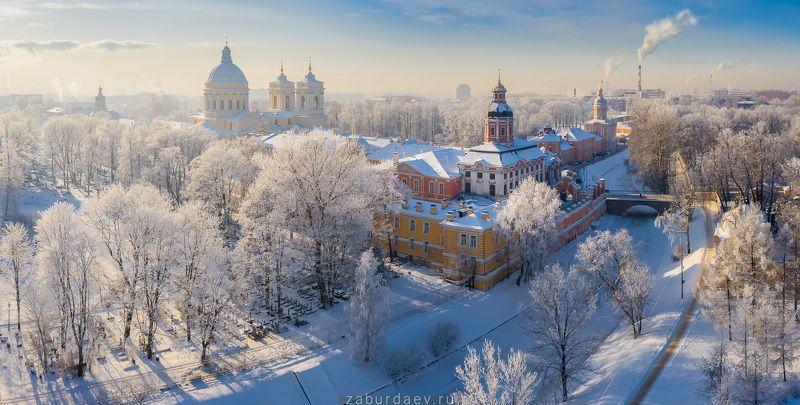 россия, зима, снег, дрон, питер, петербург *** фото превью