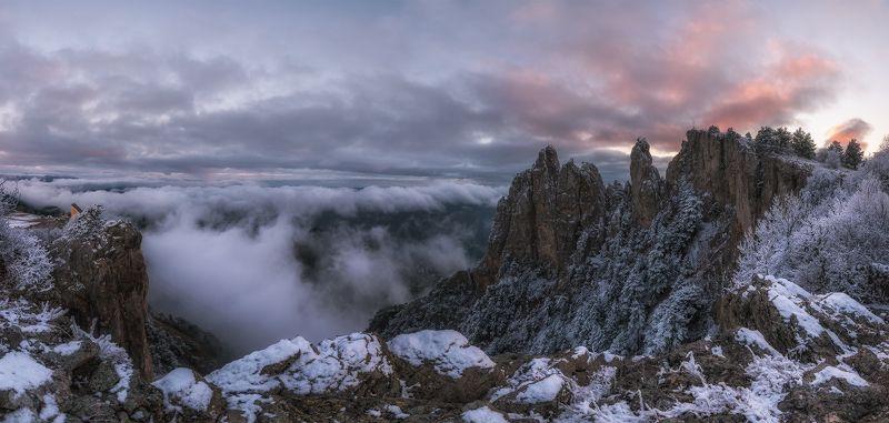 крым, ай-петри, зима, вечер, закат Зимний вечер на Ай-Петриphoto preview