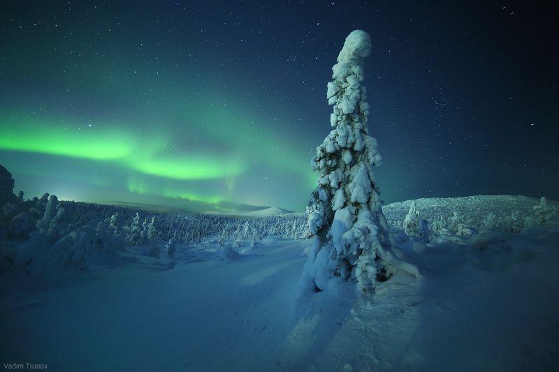кольский, север, заполярье, северное сияние, aurora borealis Звёзды зажигаютphoto preview