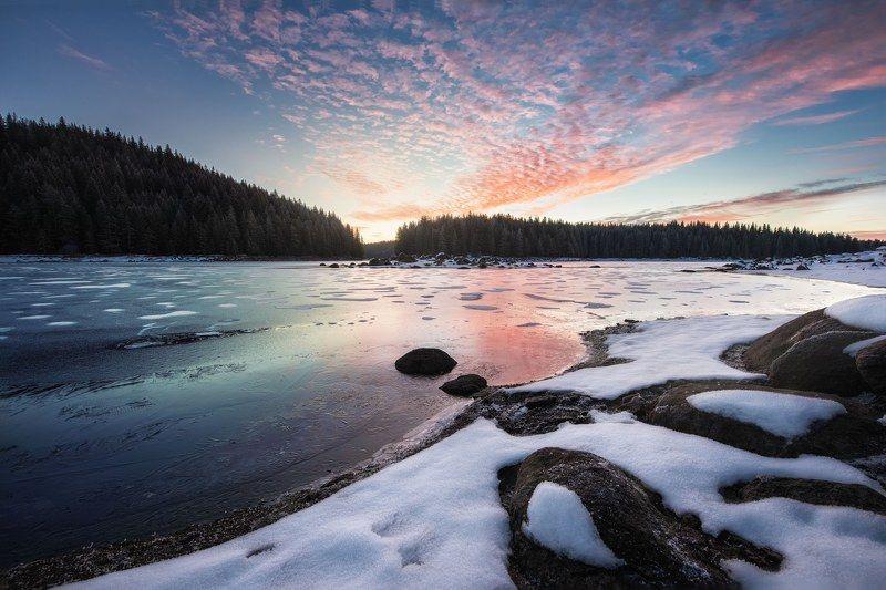 #landscape#nature#winter Sunrise at Shiroka polianaphoto preview