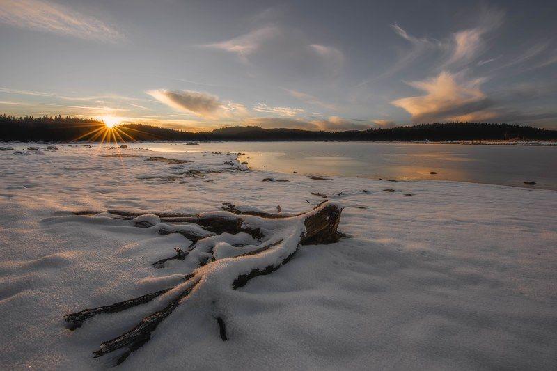 #landscape#nature#winter Cold warmphoto preview