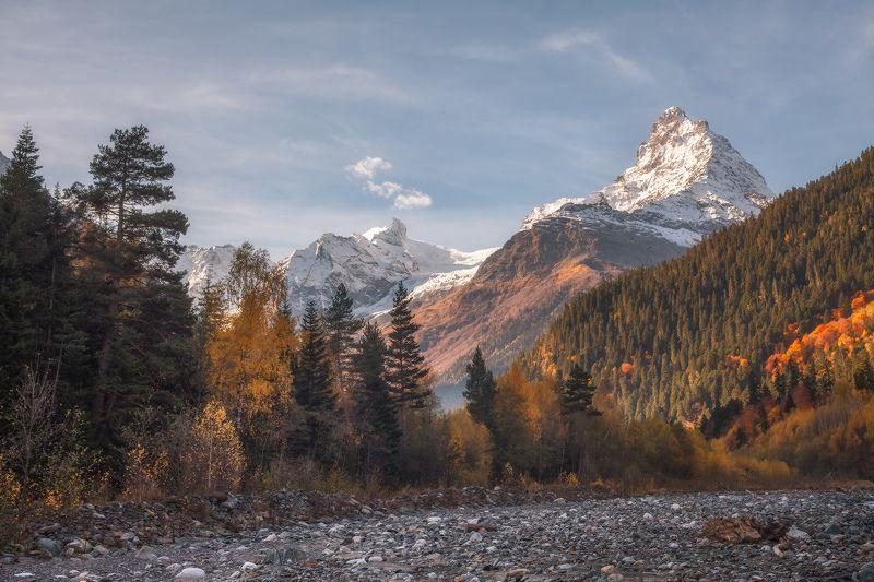 кавказ, домбай, горы,  белелакая, чотча, осень Осень Домбаяphoto preview