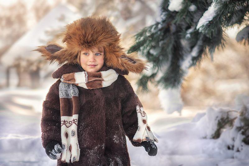 Зима в деревнеphoto preview