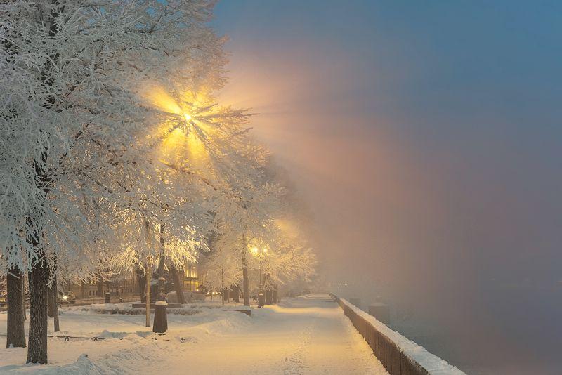 санкт-петербург зимние краски Петербурга...photo preview