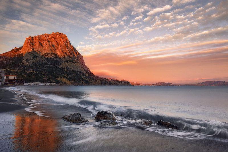 крым море гора закат Соколphoto preview