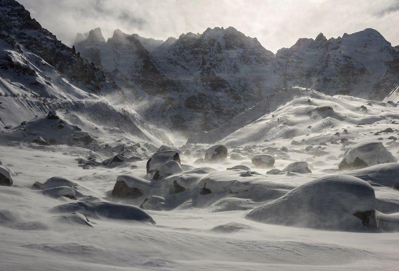 горы, альпинизм, кавказ, ледники white snowstorm...photo preview
