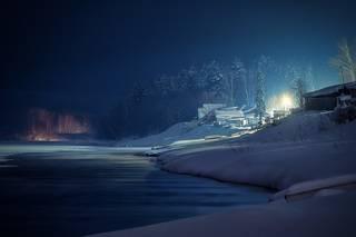 Ночь января