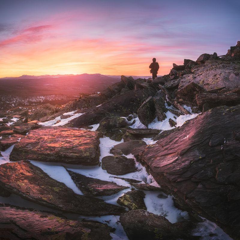 закат, зима, уреньга, урал, южный урал Ледяное дыхание Зимыphoto preview