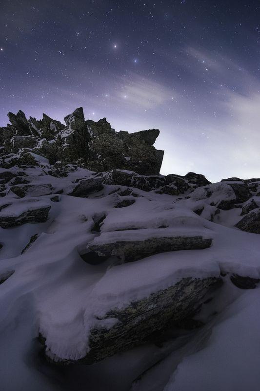 ночь, зима, уреньга, урал, южный урал, большая медведица Под взглядом Большой Медведицыphoto preview