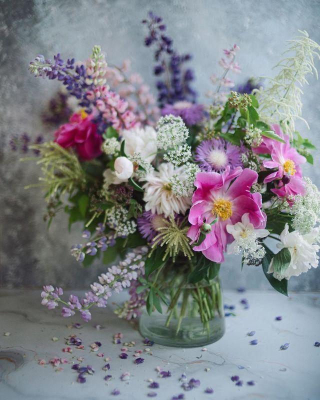 букет, лето, цветы, свет photo preview