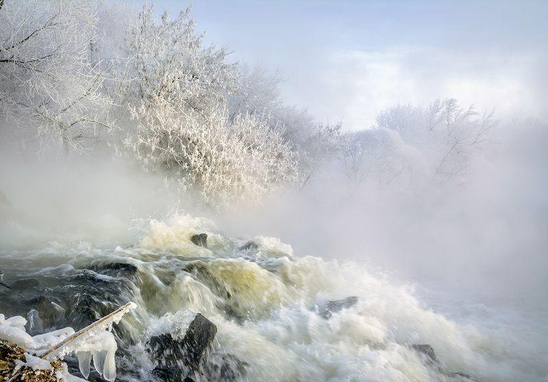 Зимняя река.photo preview