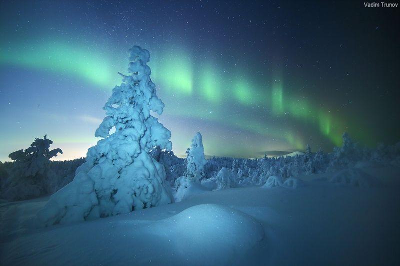 кольский, север, заполярье, хибины, северное сияние, aurora borealis Магия северных ночейphoto preview