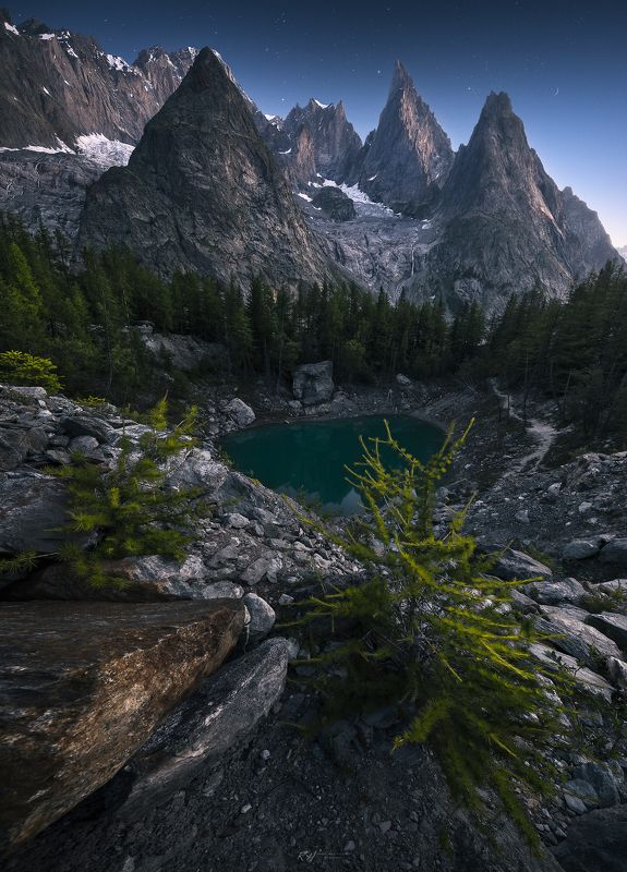 #landscape, #mountains, #alps, #italy, #sunset, #sunrise, #night Temple of Venusphoto preview
