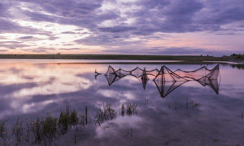 #landscape#nature#longexposure Purple sunsetphoto preview