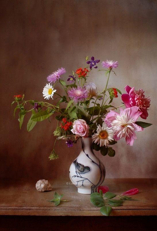 натюрморт, цветы, летний букет Букетphoto preview