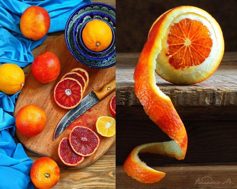апельсины Красные апельсиныphoto preview