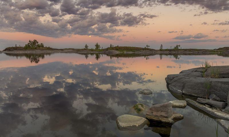 ладога. Лунный закат.photo preview