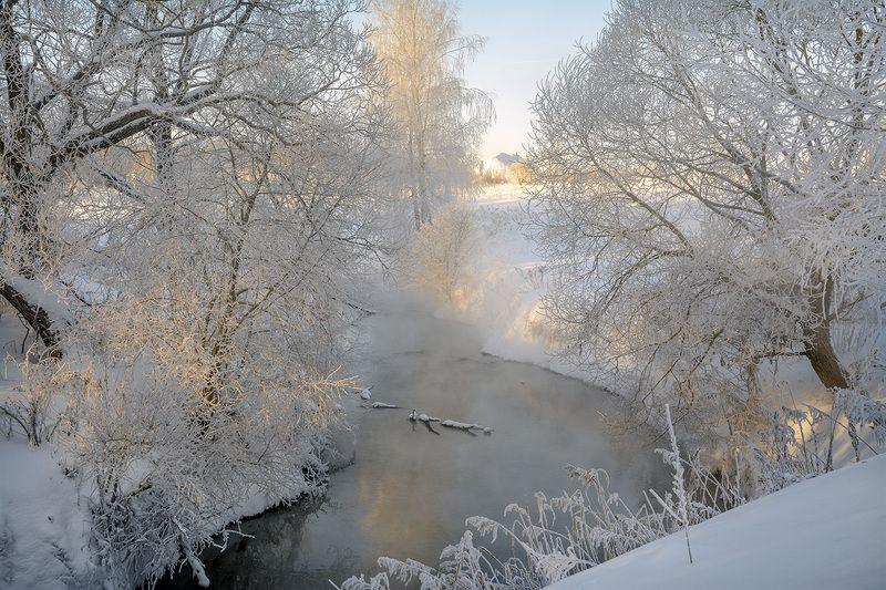 Зимнее утро.photo preview