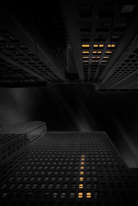 Dark cityphoto preview