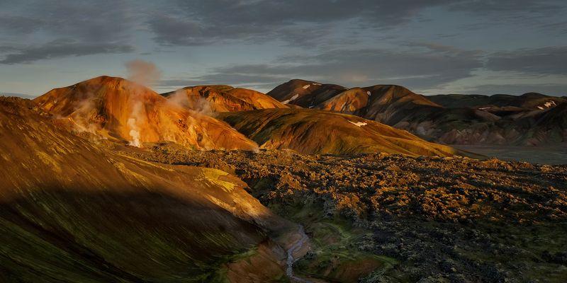 iceland, исландия,landmannalaugar, высокогорье исландии, icelandic highlands, highlands of iceland, landmannalaugar hike Цветные горы Исландииphoto preview