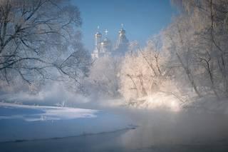 Февральский мороз над Истрой