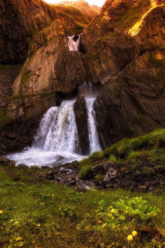 Водопад Чирхалю.photo preview
