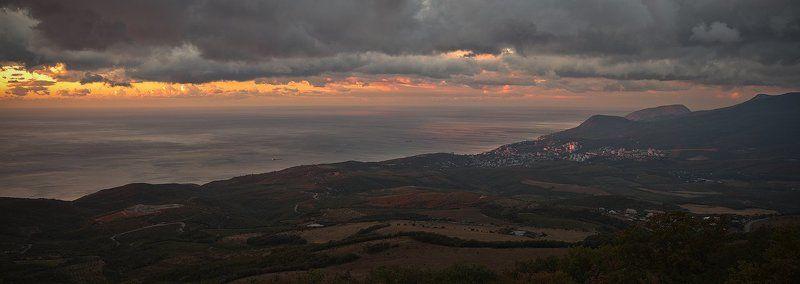 алушта, восход, крым, черное море Восходphoto preview