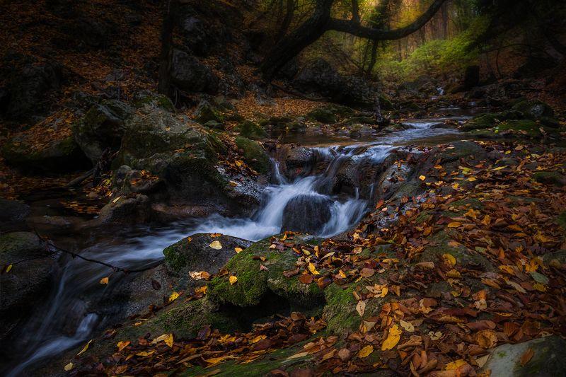 Крым, Большой каньон, каньон, река, осень, Течение времени...photo preview