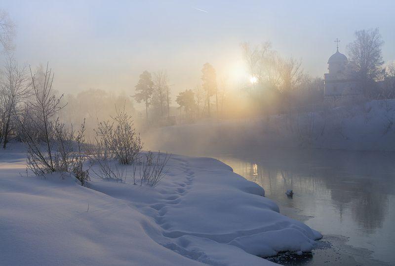 Зимний рассвет.photo preview